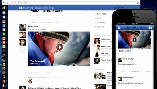 social media changes - facebook newsfeed