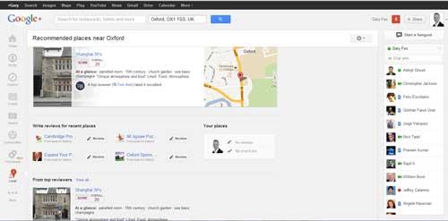social media changes new google plus tab