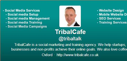 tribalcafe @tribaltalk how to get more twitter followers for your business