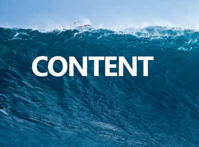 the content marketing wave