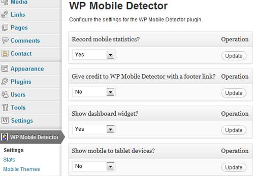 how to make your site mobile friendly using wp mobile detector