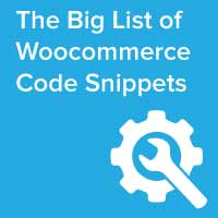 ultimate woocommerce code snippets list