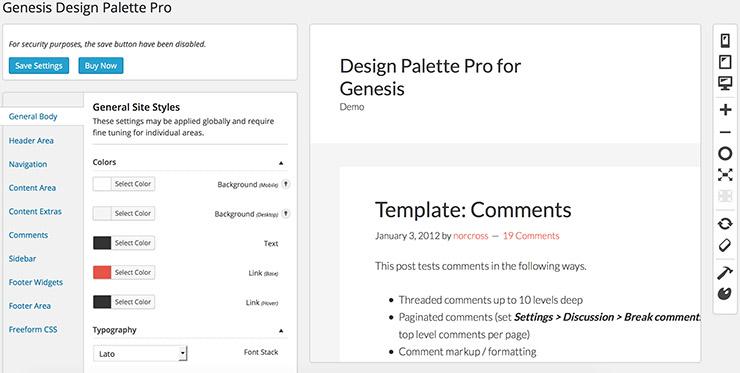 genesis design palette pro plugin