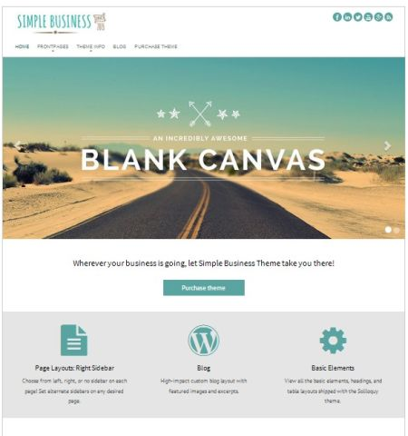 The best free wordpress bootstrap themes simple business free wordpress bootstrap theme flashek Gallery