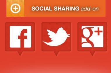 event espresso addon social sharing