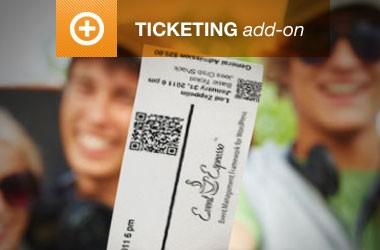 event espresso addon ticketing