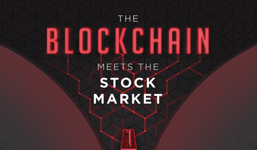 Blockchain Stock Market Infographic