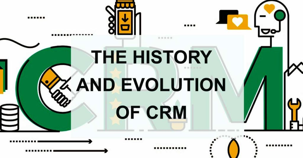 evolution of crm infographic