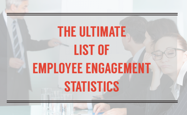 list employee engagement statistics