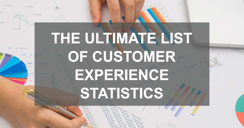 ultimate list of customer experience statistics