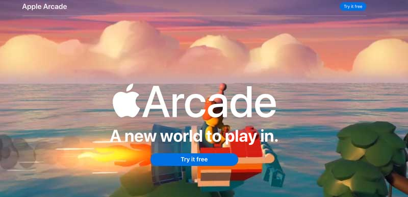 apple arcade gaming